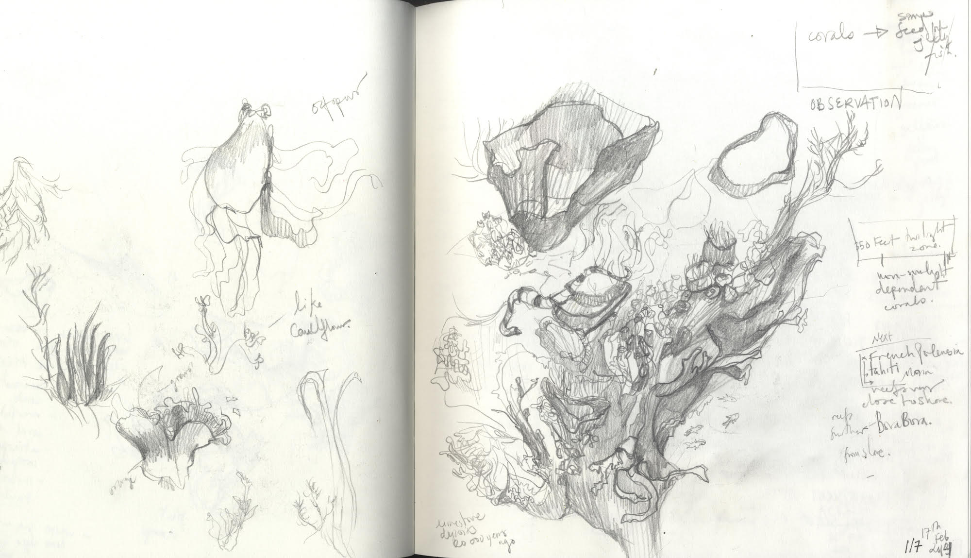 Yasmine Al Nabulsi's sketchbook