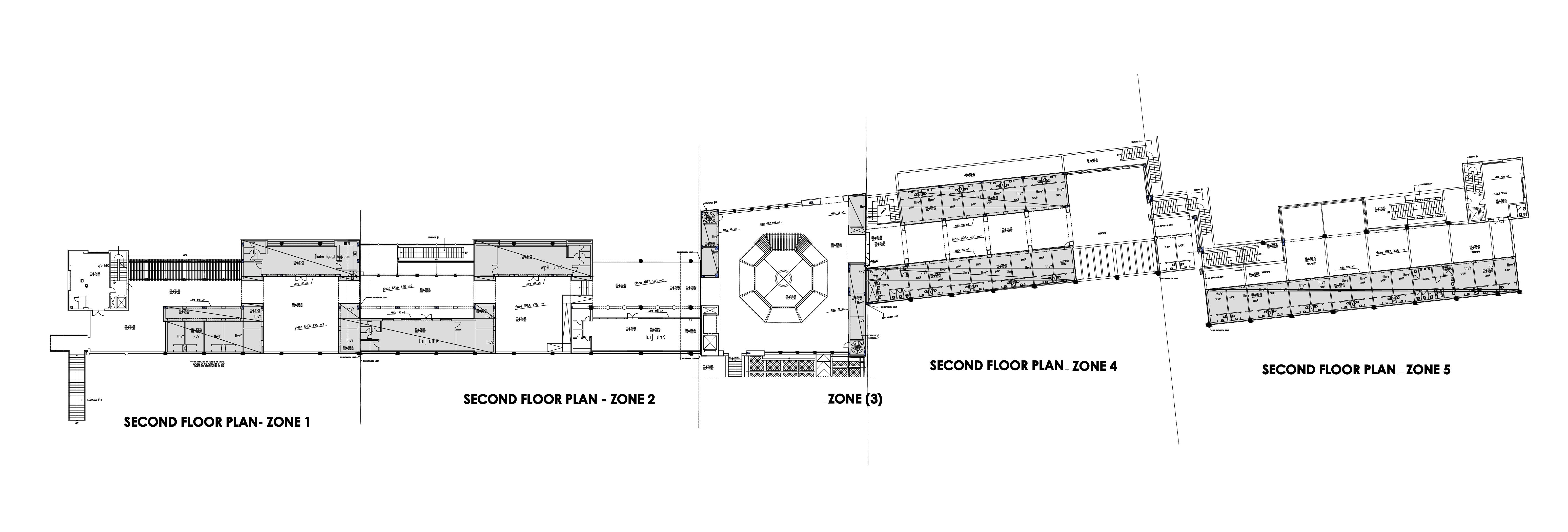 مخطط طابق مجمع رغدان السياحي
