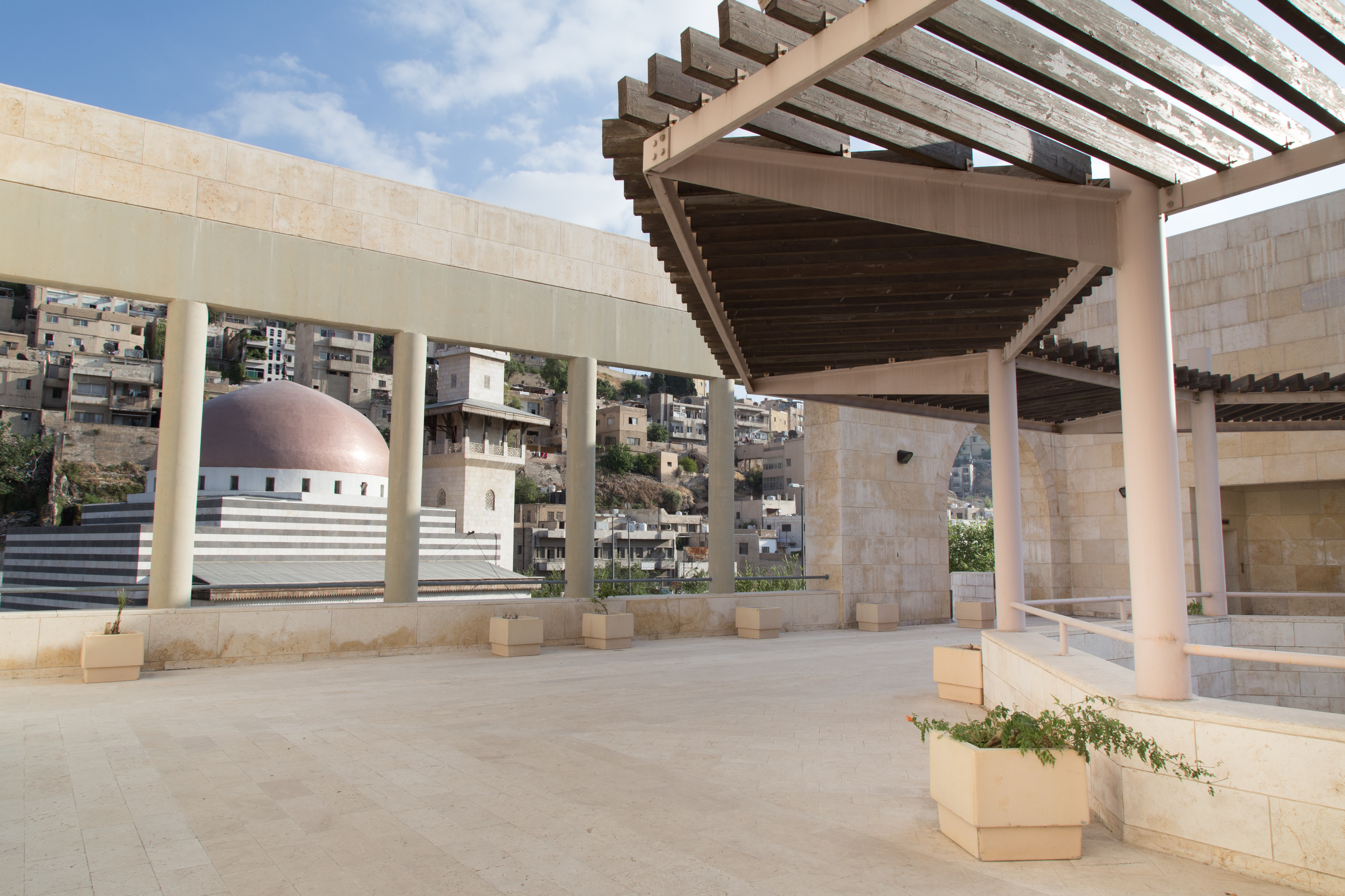 The Raghadan Bus Terminal, designed by Architects Ayman Zuaiter and Khaled Jadallah