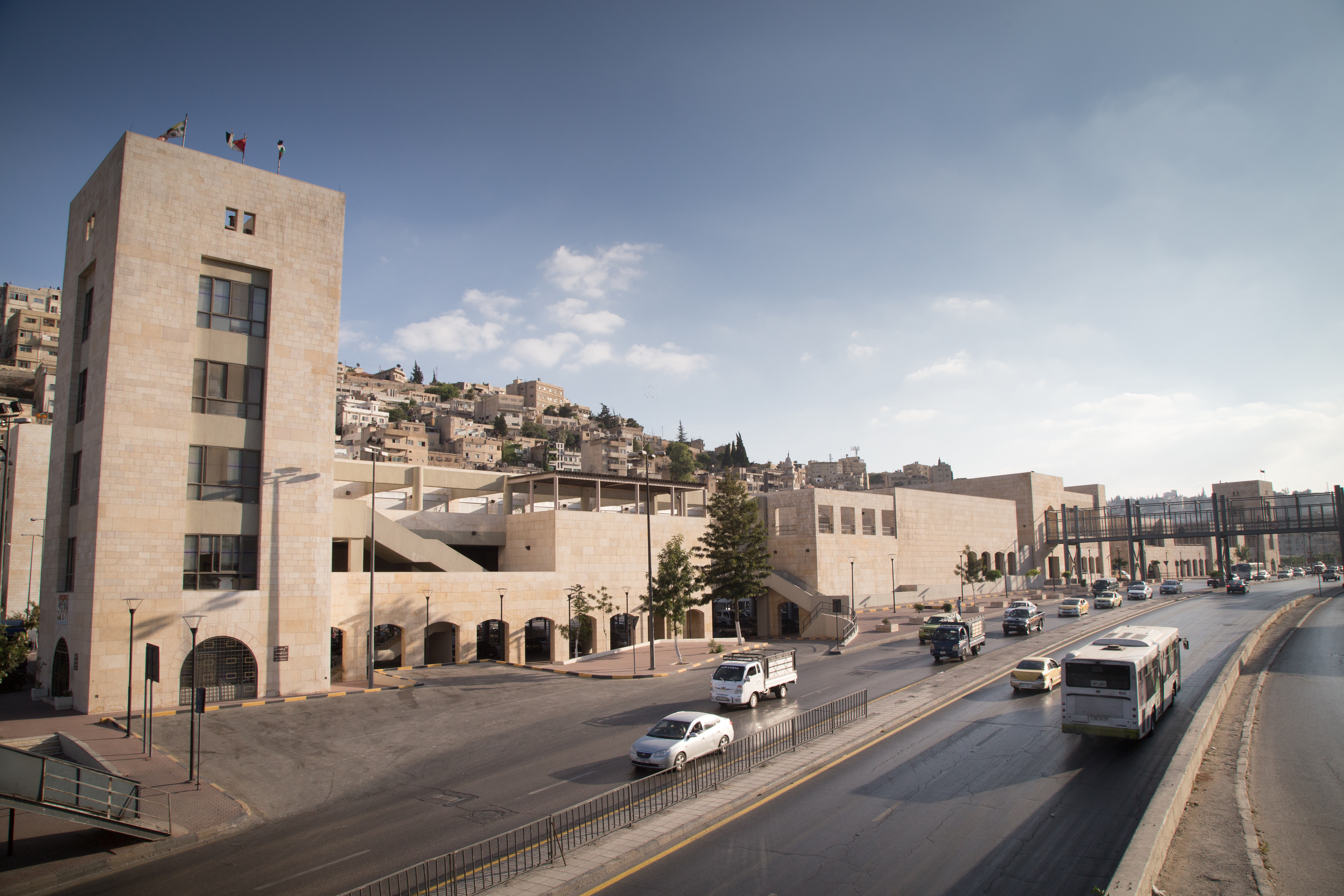 The Raghadan Tourist Terminal, designed by Architects Ayman Zuaiter and Khaled Jadallah