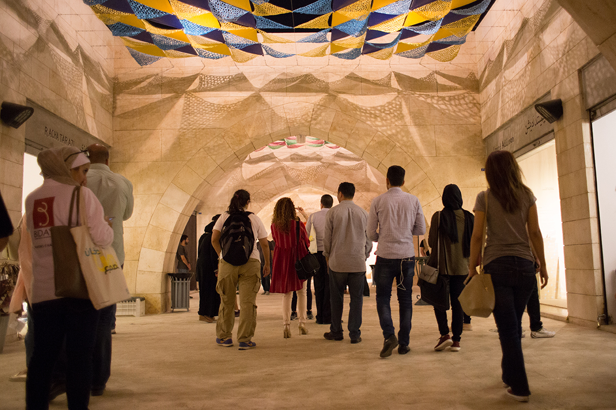 حي الحرّف - أسبوع عمّان للتصميم ٢٠١٦