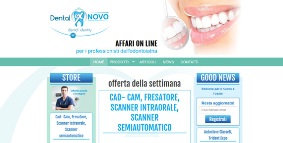 sito web dentalexnovo