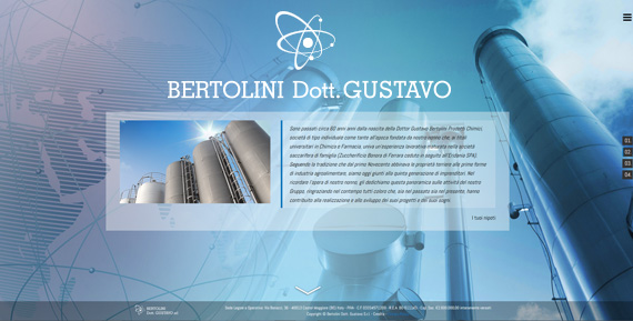 Bertolini Dott. Gustavo Srl Website