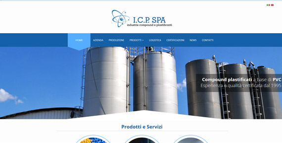 ICP Spa Website