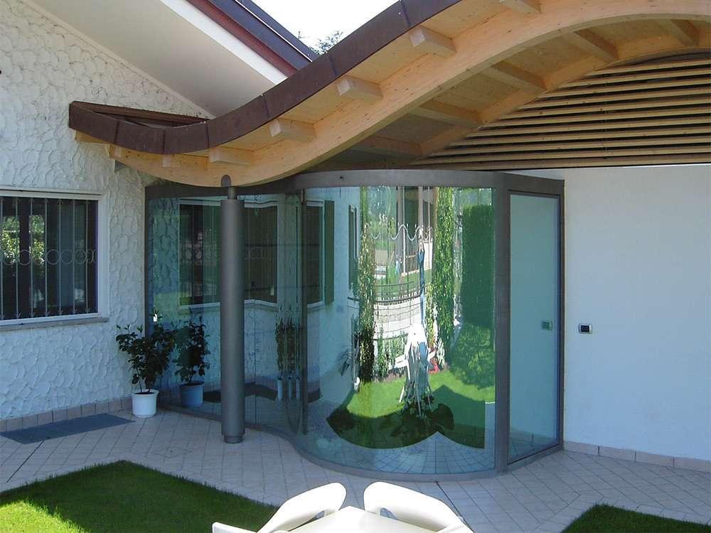Pareti Esterne In Vetro : Porte automatiche in vetro arco trento santoni vetrisantoni