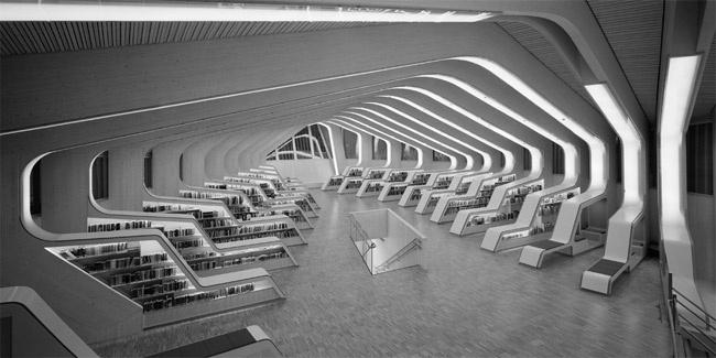 Library Vennesla, Norway Helen & Hard, Lancia TrendVisions, LTVs