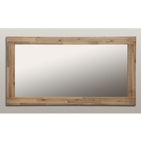 Image of: Mirror with Solid Acacia Frame - 1300mm x 700mm