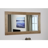 Image of: Contemporary Mirror with Solid Oak Frame -1500mm x 800mm