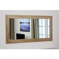 Image of: Cosmopolitan Mirror with Solid Oak Frame - 1650mm x 800mm