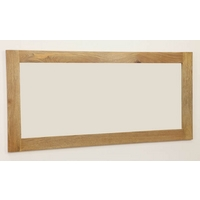 Image of: Mirror with Solid Light Mango Frame - 1650mm x 800mm