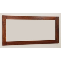 Image of: Mirror with Teak Oiled Solid Mango Frame - 1650mm x 800mm