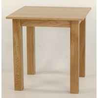 Image of: 2ft 6, 2ft 6 Solid Oak Square Dining Table - Oak Tables