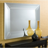 Image of: Wall Mirror with Simple yet Contemporary Design - 4 Foot Wide