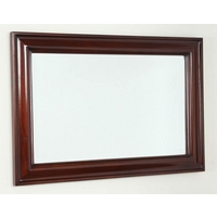 Image of: Solid Mahogany Mirror - 900mm x 600mm - Wooden Mirrors