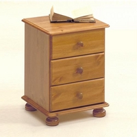 Image of: Aarhus Bedside Chest - Bedside Table and Drawers