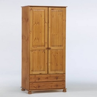 Image of: Aarhus Wardrobe with Drawers - Wardrobes