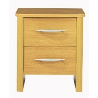 Image of: Abbey 2 Drawers Narrow Bedside - Bedside Tables and Drawers