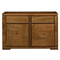 Image of: Acacia Lund Medium Sideboard Furniture - Sideboards