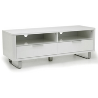 Image of: Accent High Gloss TV - Low Sideboard White - Sideboards