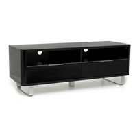 Image of: Accent High Gloss TV Unit Black - Sideboards
