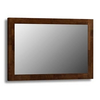 Image of: Ada Solid Wood Landscape Wall Mirror - Mirrors