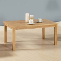Image of: Adeline Solid Wood Rectangular Coffee Table - Coffee Tables