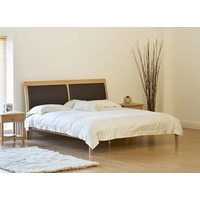 Image of: Adrian Bed with Leather Panel Headboard - Double Beds