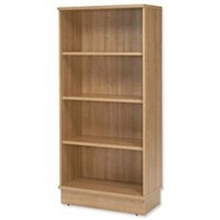 Image of: Bookcase - Adroit Virtuoso Bookcase Tall W800xD420xH1775mm Cherry - Bookcases