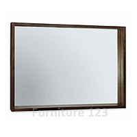Image of: Akita Walnut Wall Mirror - Wall Mirrors