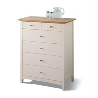 Image of: Alaska 4+2 Drawer Chest Small Single, Assembled - Chest Of Drawers