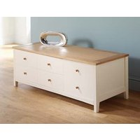 Image of: Alaska Low 3 Drawer Chest - Chest Of Drawers