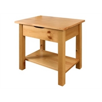 Image of: Alder Bedside Table Antique Small Single - Bedside Tables and Drawers