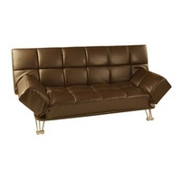 Image of: Alexandra 3 Seater Futon in Brown - Futon Beds
