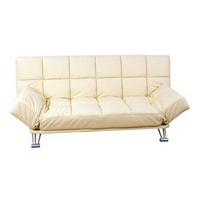 Image of: Alexandra 3 Seater Futon in Cream - Futon Beds