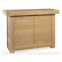 Image of: Alpha Oak Narrow Sideboard Furniture - Sideboards