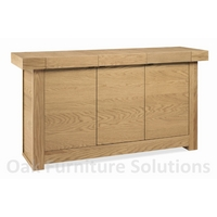 Image of: Alpha Oak Wide Sideboard Furniture - Sideboards