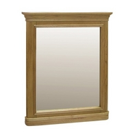 Image of: Alsace Oak Small Mirror - Oak Mirrors