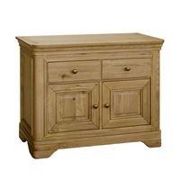 Image of: Alsace Oak Small Sideboard Furniture - Sideboards