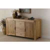 Image of: Alto Solid Oak Large Sideboard Furniture - Oak Sideboards