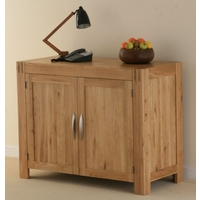 Image of: Alto Solid Oak Small Sideboard Furniture - Oak Sideboards
