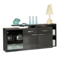 Image of: Annabelle 3 Door Sideboard Furniture - Sideboards