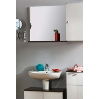 Image of: Anton Bathroom Mirror with Shelf - Bathroom Mirrors