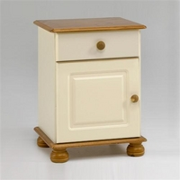 Image of: Arabella 1 Drawer Bedside - Bedside Cabinets and Drawers