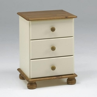 Image of: Arabella Painted Bedside Cabinet - Bedside Tables and Drawers