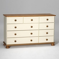 Image of: Arabella Painted Chest of Drawers Wide - Chest Of Drawers