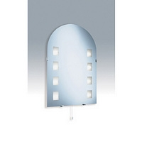 Image of: Arch Bathroom Mirror Light with Low Voltage Halogen Lamps - Mirrors UK