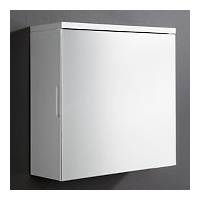 Image of: Arctic High Gloss Wall Mirror Cabinet - Mirrors