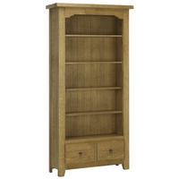 Image of: John Lewis Ardennes 1 Drawer Bookcase - Cognac - French Style Bookcases