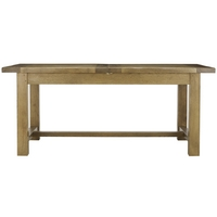 Image of: John Lewis - Ardennes Extending Refectory Table L180-230cm - Cognac - Dining Tables
