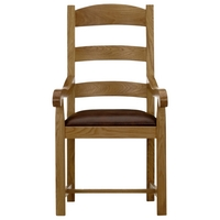 Image of: Ardennes Leather Dining Chair Cognac - John Lewis Dining Chairs